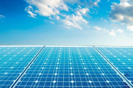 Sfondo Pulizia Pannelli Fotovoltaici