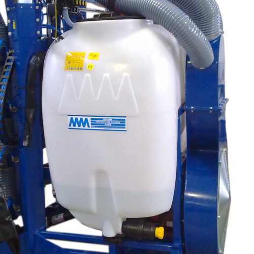 cisterna in polietilene da 600 Lt con coperchio ribaltabile da 400 mm