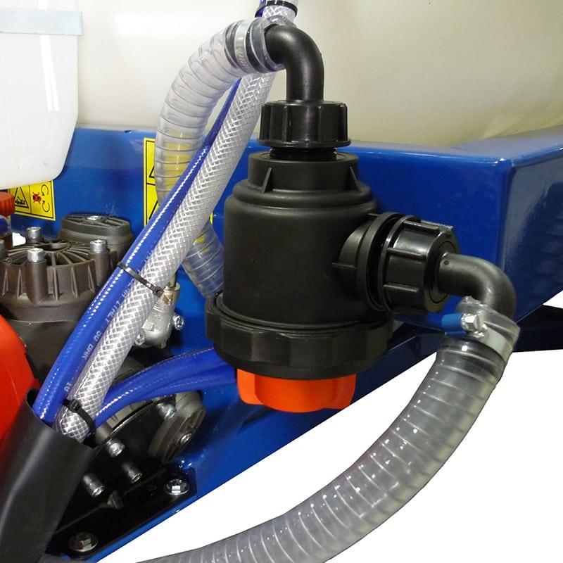 filtro aspirazione con valvola 300-400 Lt