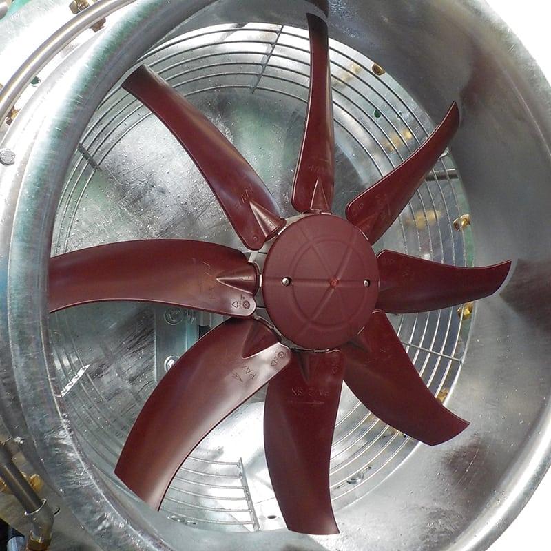ventola in nylon vetro per atom 300-1500