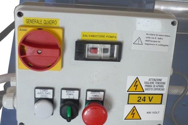 257 QUADRO Quadro di spegnimento automatico con sensore di livello