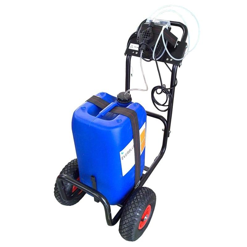 258 KITANTIP kit antiprecipitante con pompa dosatrice supporto e serbatoio