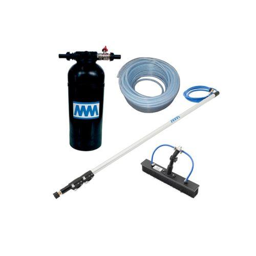 KIT8-1 kit con lancia 4 m - spazzola 40 cm - tubo 10 m e resina 8L_mini