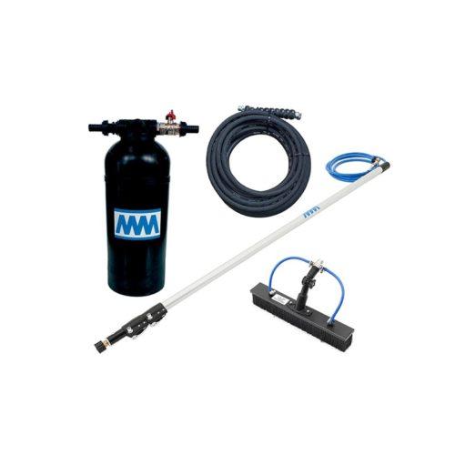 KIT8-1 kit con lancia 4 m - spazzola 40 cm - tubo alta pressione 10 m e resina 8L_mini