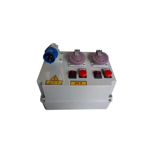 evidenza-trasformatore-220v-24v-per-alimentare-2-spazzole
