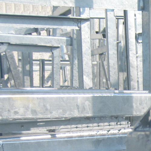zincatura telaio tubolare