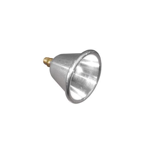 campana in alluminio con ugello_mini
