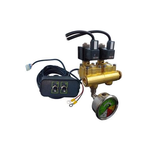 kit distributore elettrico a 2 vie e quadro comandi_mini